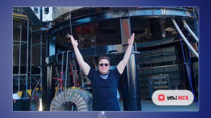 Elon Musk Raises Hands