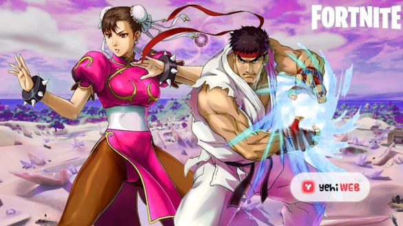 Ryu n Chunli at Fortnite
