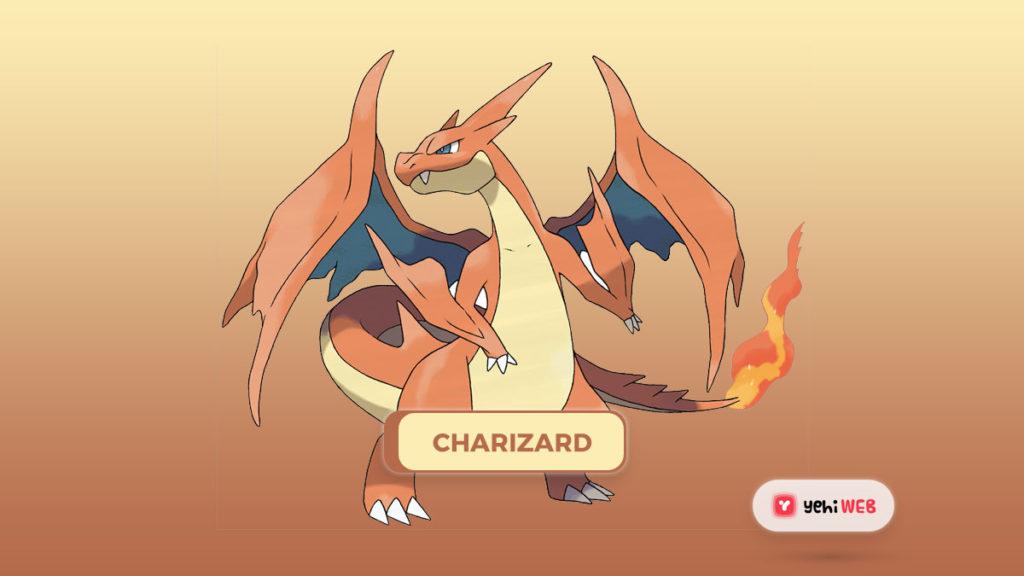 Charizard pokemon Yehiweb