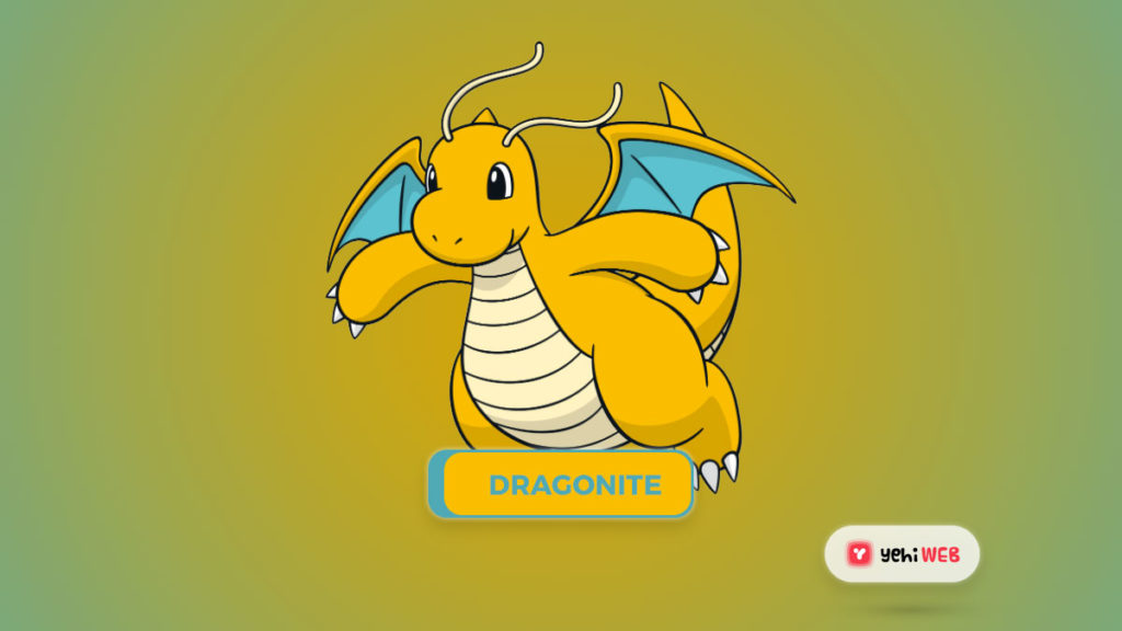 Dragonite Pokemon Yehiweb