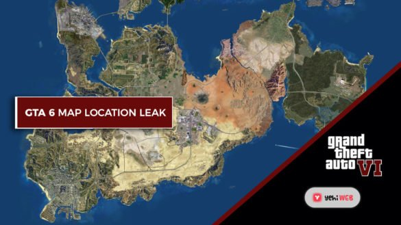 GTA6 map location leak Yehiweb