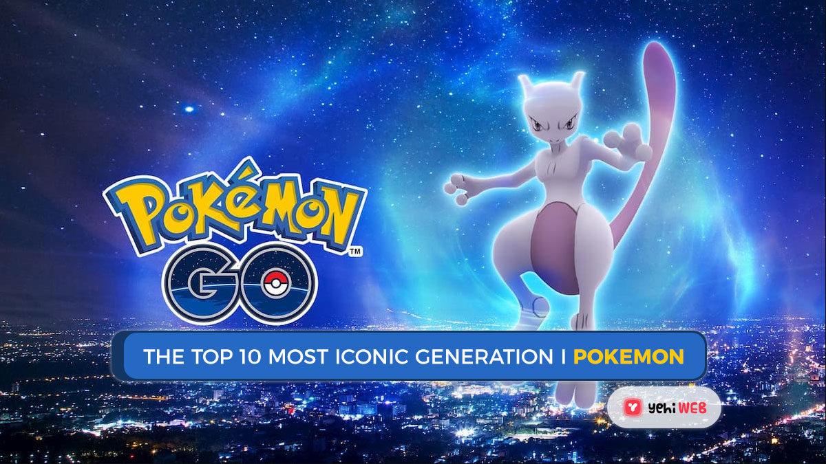 Pokémon: The Top 10 Most Iconic Generation I Pokémon