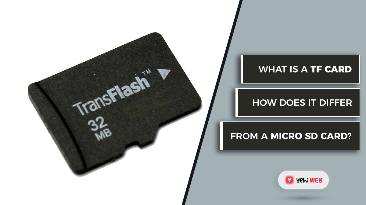 What is a TF Card, and how does it differ from a Micro SD card?