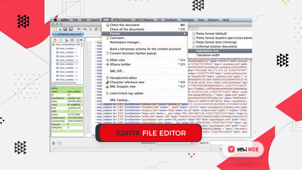 editix xml file editor yehiweb