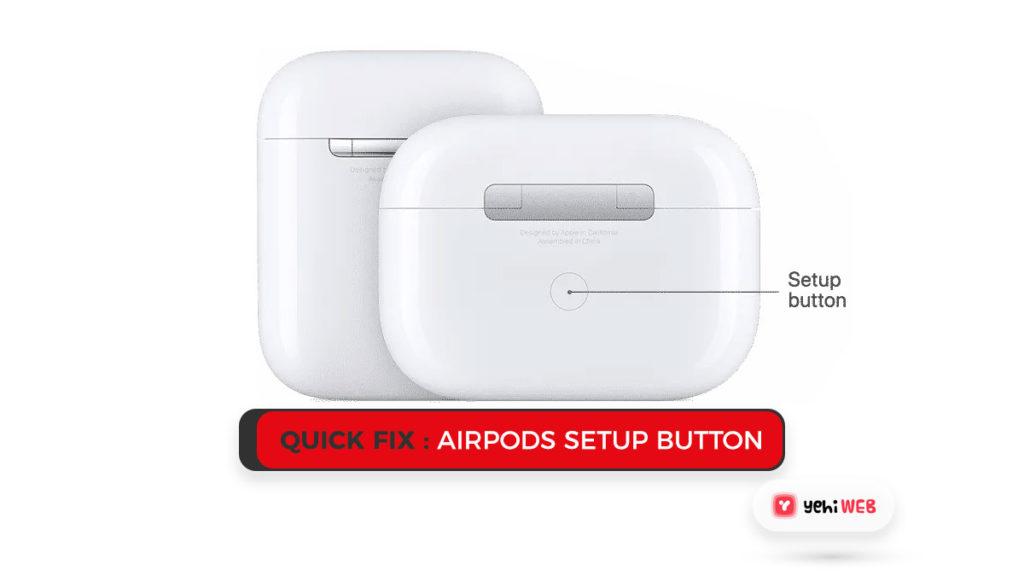 quick fix airpod seup yehiweb