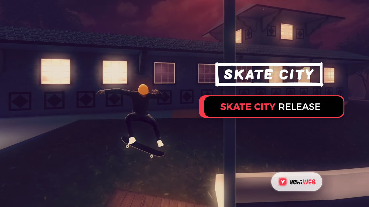 On May 6th, Skate City to release for $14.99 on PC and consoles.