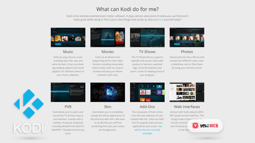 what can kodi do for me yehiweb