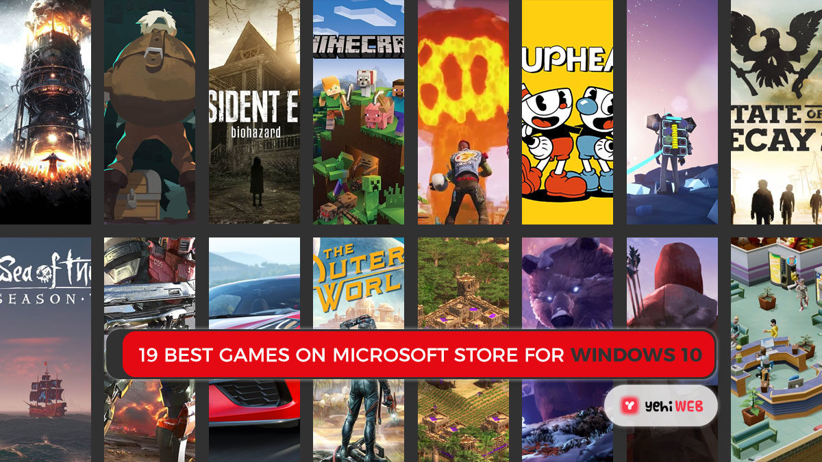19 Best Games On Microsoft Store For Windows 10