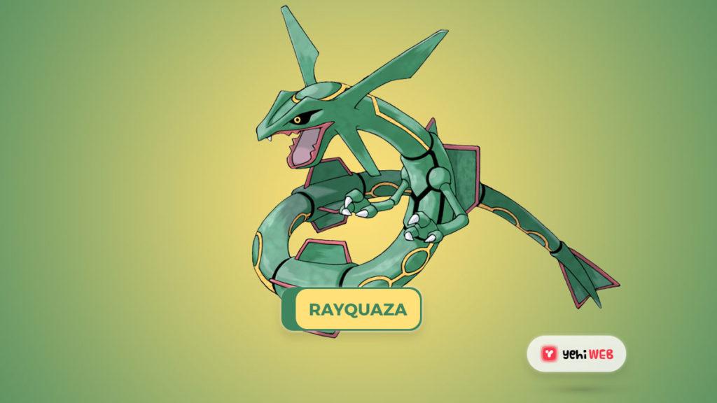 RAYQUAZA pvp pogo game yehiweb